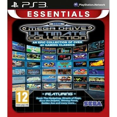 SEGA Mega Drive Ultimate Collection Game (Essentials) PS3 - Brand New!