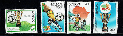 Senegal 1988 African Cup Football set unmounted mint