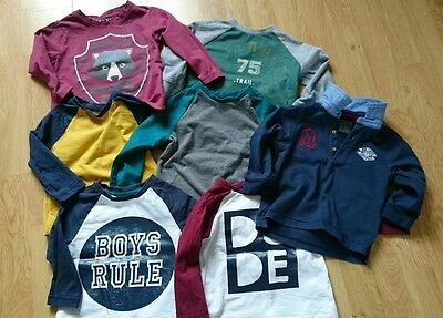12-18 month boys mothercare long sleeve t shirts
