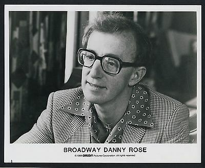 "WOODY ALLEN ""Broadway Danny Rose"" * Vintage Movie Still 1984 Aushangfoto"