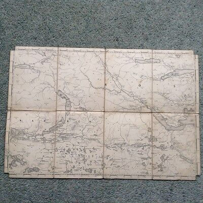 "Ireland 0rdnance Survey map. Co. Galway, 19th century? - 1"" Sheet 94"