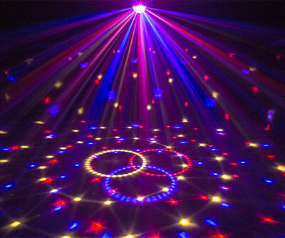 Wonsung Christmas lights 18W LED magic ball LED dance party DJ disco stage light