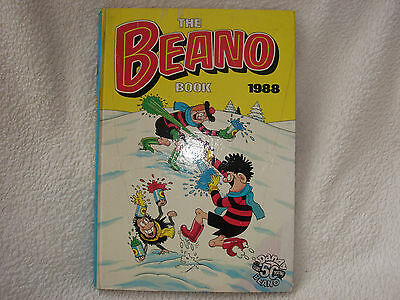 The Beano Book 1988 - Hardback Annual
