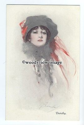 "su3070 -  Beautiful Portrait of "" Dorothy"" No.2519. Artist - Barribal - postcard"