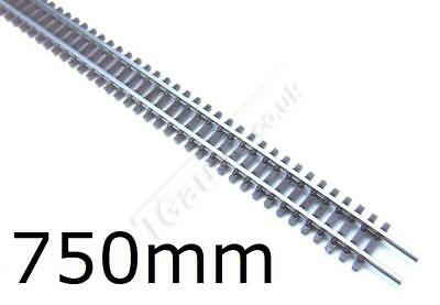 T Gauge Set of 5 Flexible Brown Tracks 750mm