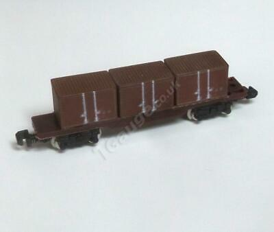 T Gauge Brown Container Wagon