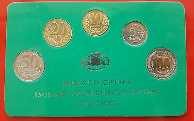 "Albanian Coins-Commemorative Issue Year 2000 ""Bank of Albania"""