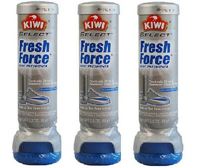 Kiwi Fresh Force Shoe Freshener Aerosol 3 Pack