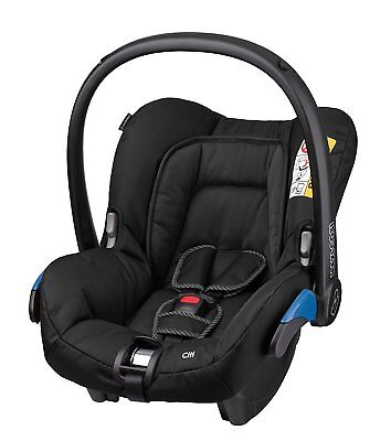 NEW Maxi-Cosi Citi Group 0 Plus Car Seat with 3-Point Safety Harness - Black