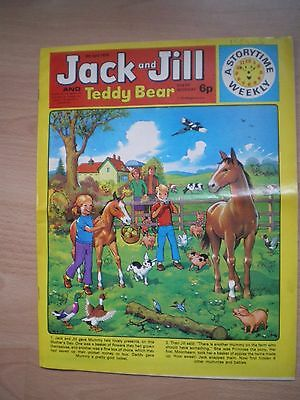 Jack And Jill And Teddy Bear Comic - 6Th April 1974
