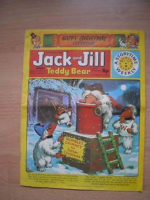 Jack And Jill And Teddy Bear Comic - 28Th December 1974
