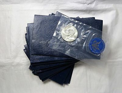 1974-S Silver Eisenhower Dollars - BU -10pc. Lot - Blue Packs !