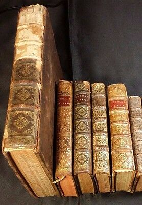 1600s - Lot of 6 Very Old & Unique Books in Jurisprudence, Religion & Philosophy