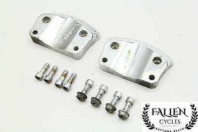 03 HARLEY ROAD King FLHRCI Front Fender Risers