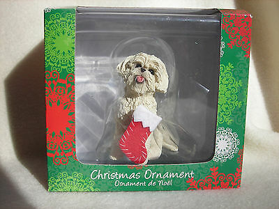Stone Critter Sandicast Bichon Frise Dog Breed Figurine or Ornament NEW
