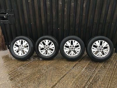 VW Volkswagen Transporter T5 T6 16inch Alloy Wheels And Tyres