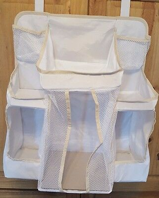 Dexbaby Diaper Caddy and Nursery Organizer for Baby's Essentials - White