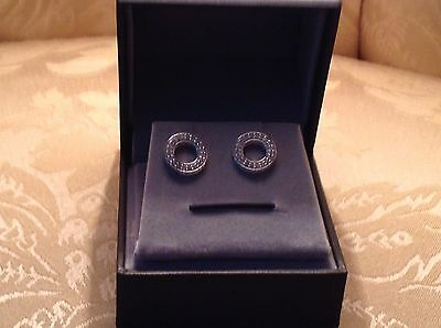 1/2 Carat Diamond 10k White Gold Earings