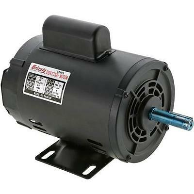 G2901 Grizzly Motor 1/2 HP Single-Phase 1725 RPM Open 110V/220V