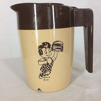 Bob's Big Boy Decaf Coffee Carafe Single Serving Size Cambrio Made in the USA