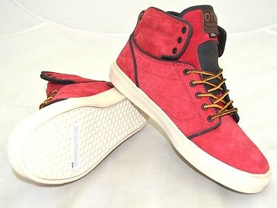 6f12683182cea4 VANS OTW COLLECTION Boot Red   Brown US Size 10 - FREE SHIPPING - BRAND NEW  -  59.49