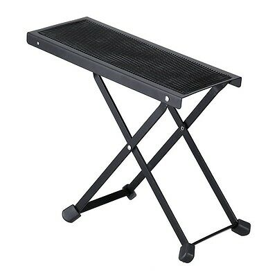 Adjustable Classic Footstool Footrest - Music Accessories - Acoustic Electric Cl