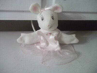 Angelina Ballerina American Girl Mouse HAND PUPPET ESTATE FIND