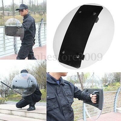 3.5mm Thickness Round Anti-Riot Shield Police Tactical CS Campus Security Tool