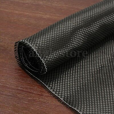 3K 200gsm Real Plain Weave Carbon Fiber Cloth Fabric Twill DIY Tape 8'' x 12''