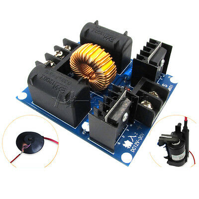 DC 12-30V ZVS Tesla Coil Marx Generator High Voltage Power Supply Module UK