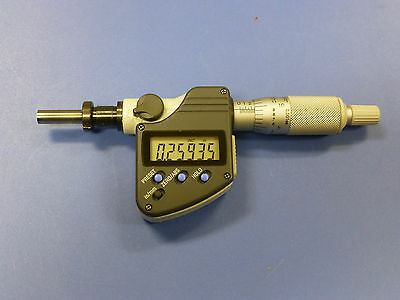 Mitutoyo Digimatic 350-352 Digital Micrometer Head with LCD Display, 25mm