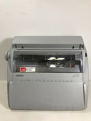 Brother GX-6750 Daisy Wheel Portable Electric Correctronic Typewriter Tested