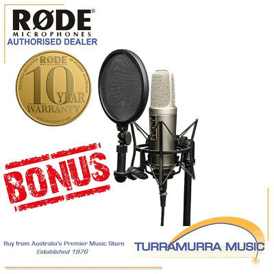 Rode NT2A Complete Recording Kit with Bonus Gift Pack