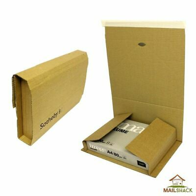 LARGE C4 Book Wraps   Lightweight Post Mailer Boxes   305x240x115mm - SIZE A4