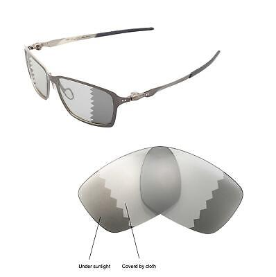 Walleva Polarized Transition Photochromic Lenses For For Oakley Tincan c1e8426873bf