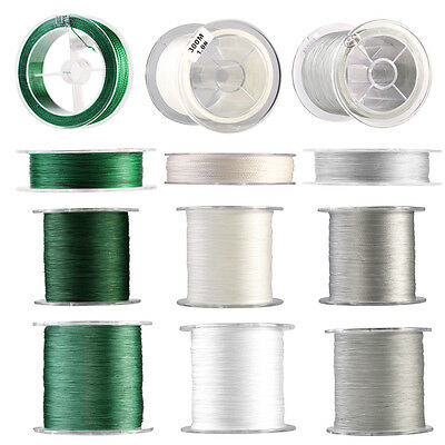 100m 300m 500m Super Strong Braided Cord Sea Fishing Line 4 Strands 12LB-100LB~