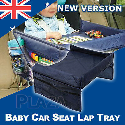 Baby Car Safety Seat Lap Tray Portable Table Snack Kid Travel Play Pushchair
