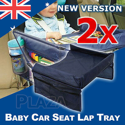 2X Baby Car Safety Seat Lap Tray Portable Table Snack Kid Travel Play Pushchair