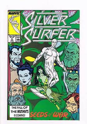 Silver Surfer # 6  Vol 2 1987 series !  grade - 8.5  scarce book !!