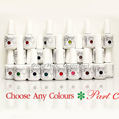 GELISH HARMONY - PART C Soak Off Gel Nail Polish Lot Set UV Nail -Pick ANY Color