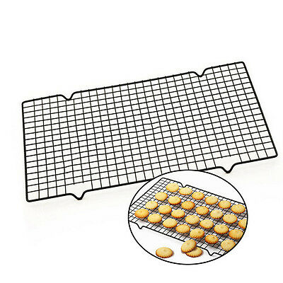 Stainless Steel Cooling Rack Mesh Grid Baking Cookie Cake Drying Stand Wire Pan*