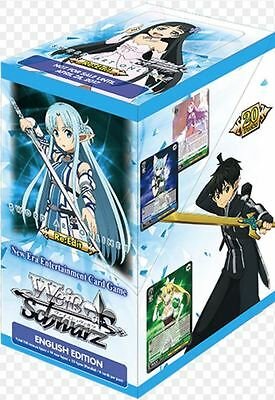 Weiss Schwarz TCG - Sword Art Online Re-Edit Boosters x 20