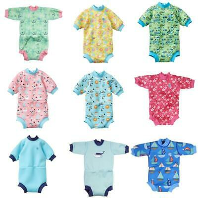 Splash About Happy Nappy Baby Toddler Wetsuit Fully Nappy Inside Swim Water Wear