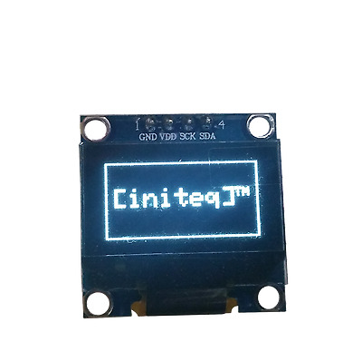 "0.96"" OLED LCD Display I2C IIC 128x64 Arduino ESP32 ESP8266 Screen WHITE SSD1306"