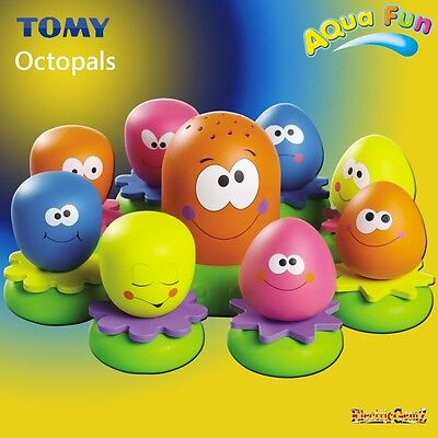TOMY Octopals Fun Baby Toddler Octopus Activity Learning Bath Time Toy