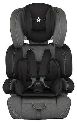 Cozy 'n' Safe Logan High Back Booster Car Seat with Harness - Black A