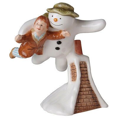 John Beswick The Snowman & James FLYING Earthenware Figurine