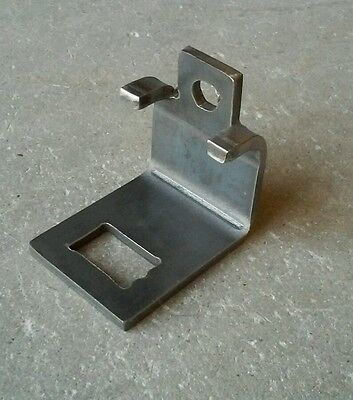 Field Cultivator Parts, S-Tine Clamp, Fits 2X2 Bar Hd Unpainted