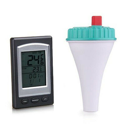 Sensor Floating Wireless Thermometer With Lcd Display for Swimming Pool Spa Pond