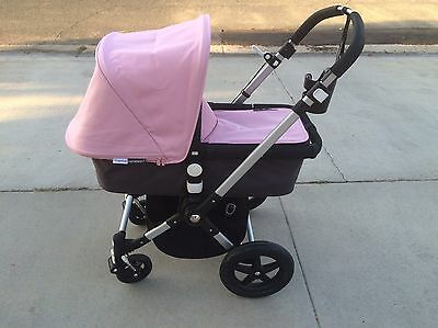 Bugaboo Cameleon Soft Pink Canopy & Apron Set